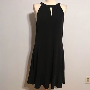White House Black Market Jersey Keyhole Dress XL